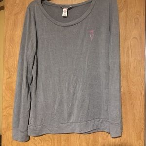 Victoria's Secret Large Grey Long Sleeve